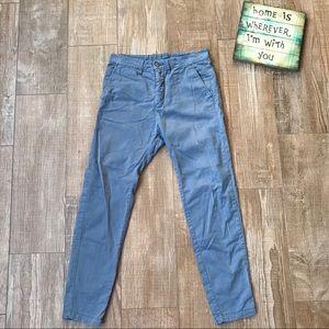 H&M Divided ☁️ Men's Blue Casual Long Pants